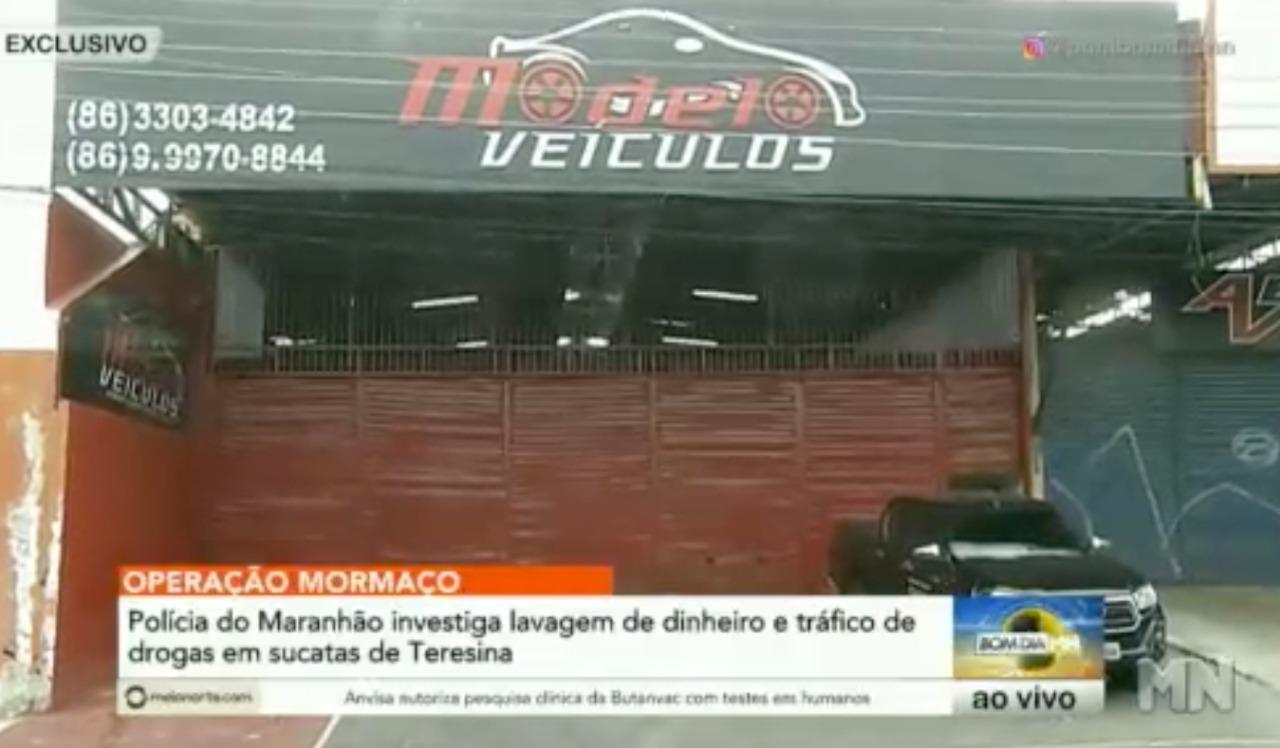 Operaçao investiga lavagem de dinheiro e tráfico de drogas em lojas de Teresina