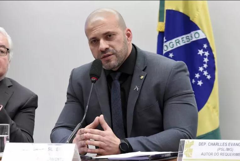 Deputado Daniel Silveira | foto: Divulgação