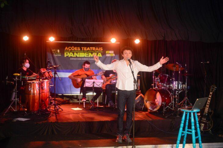 Banda cantará canções de grandes artistas brasileiros