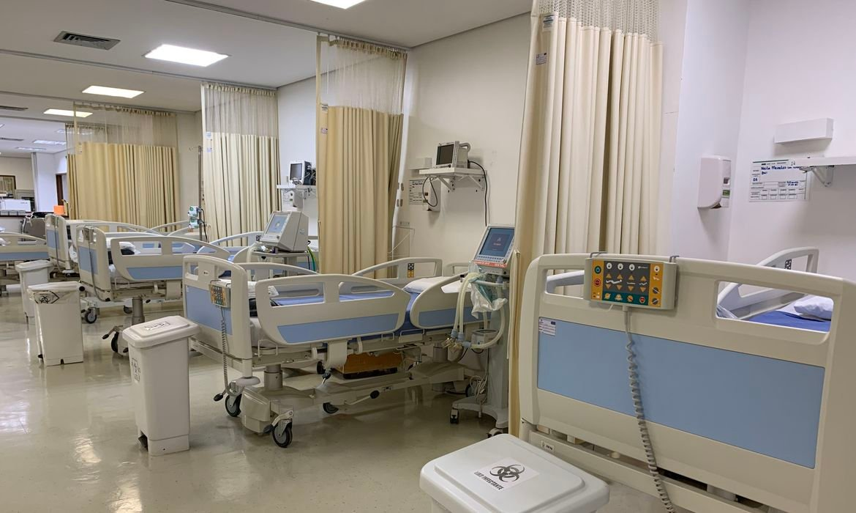 Liberados recursos para mais leitos de estabilização para pacientes com Covid-19 | Divulgação/HUB