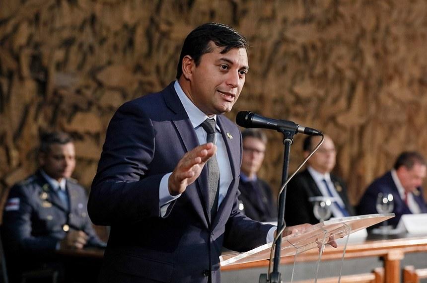 Governador Wilson Lima resolveu não comparecer à CPI da Pandemia (Isac Nóbrega/PR)