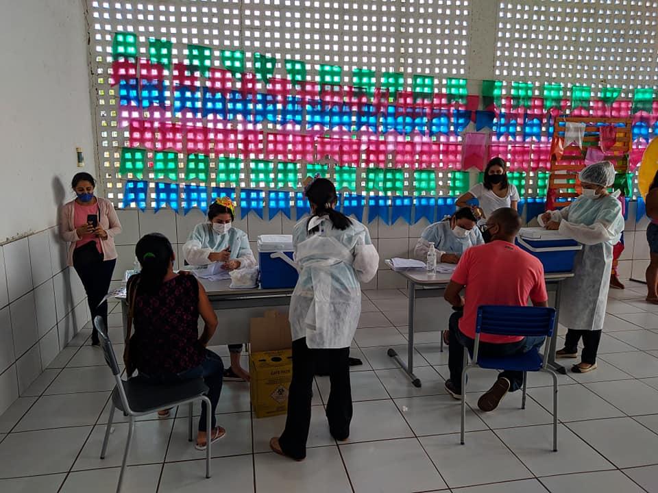 Avanço na vacinação em Nossa Senhora dos Remédios  - Imagem 2