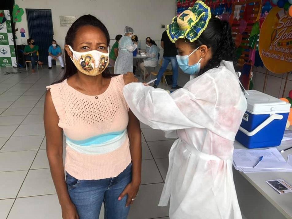 Avanço na vacinação em Nossa Senhora dos Remédios  - Imagem 3