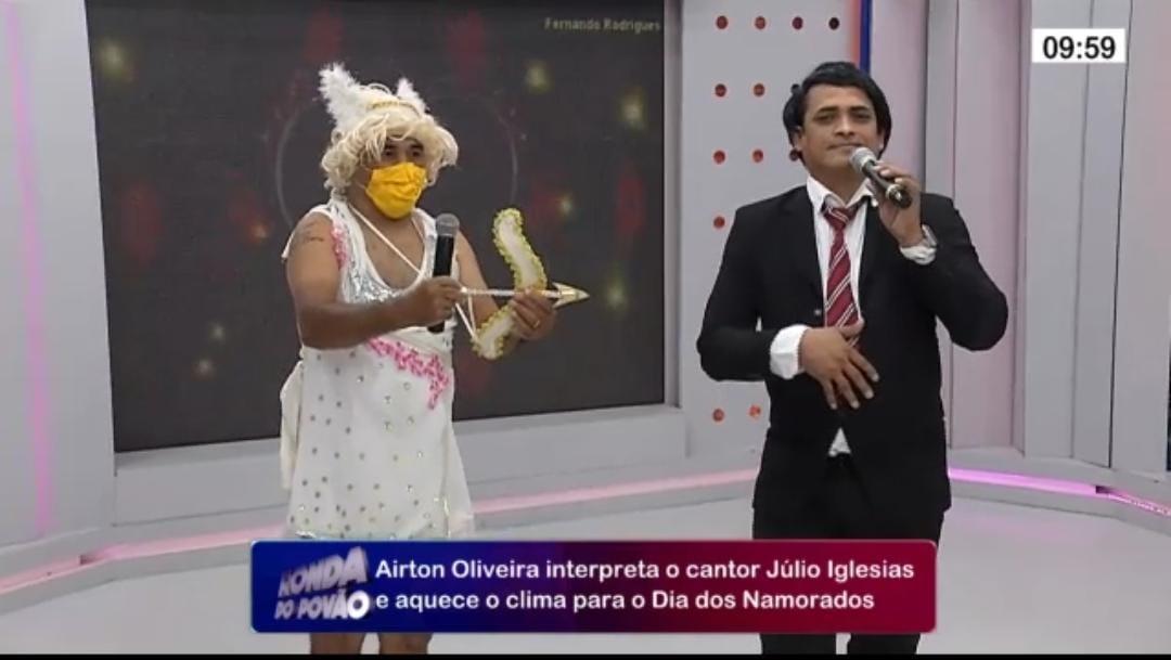 """""""Júlio Iglesias"""" vem ao Ronda e aquece o clima para o Dia dos Namorados - Imagem 1"""