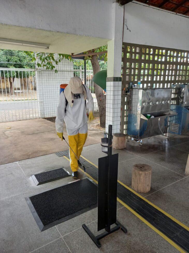 Mesmo com a vacinação, para a volta ao chão da escola será necessário o cumprimento de todos os protocolos - Foto: Ascom