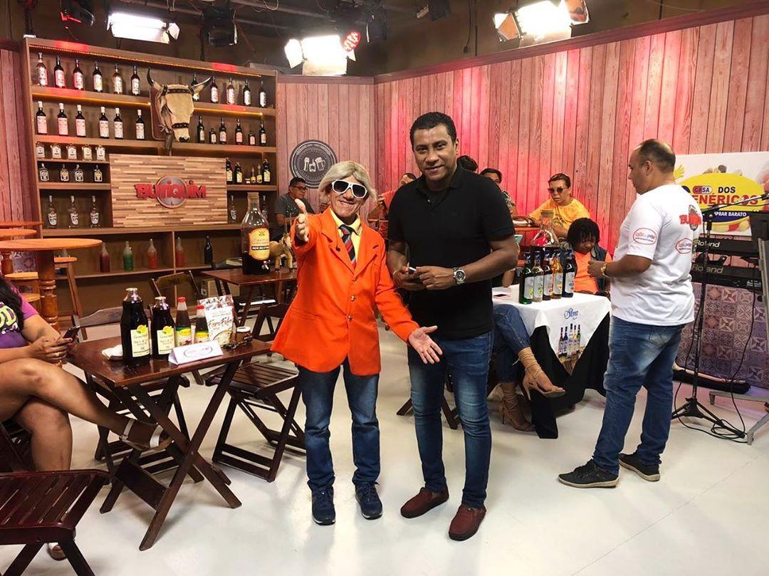 Ronaldo de Sá e Zé Pinguelo comandam a festa ao vivo, das 20h às 22h15min- Foto: Raisa Morais