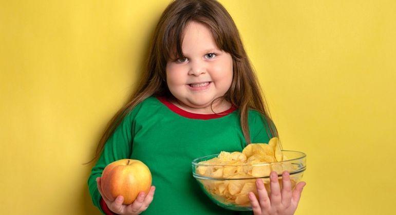 Pais devem ficar em alerta para tratar obesidade infantil. (Foto: