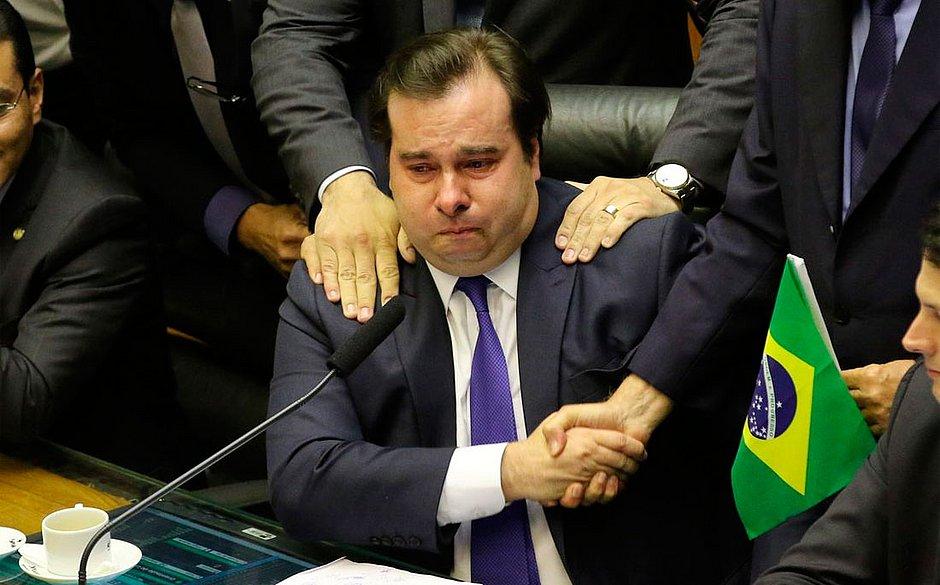 Rodrigo Maia é expulso do DEM Foto: Agência Brasil