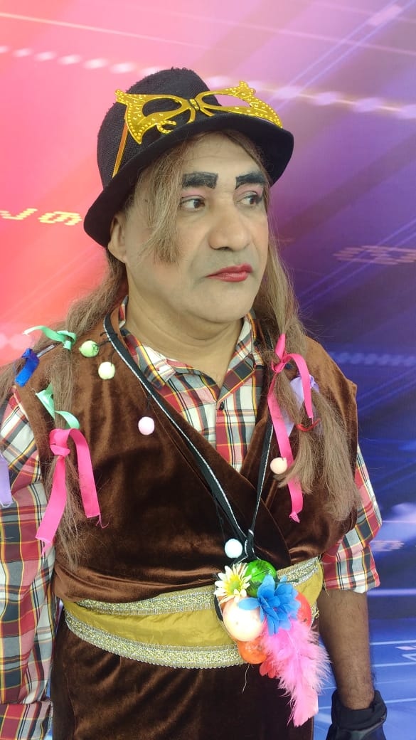 Chupetinha interpreta o cantor Boy George, que completa hoje 60 anos - Imagem 1