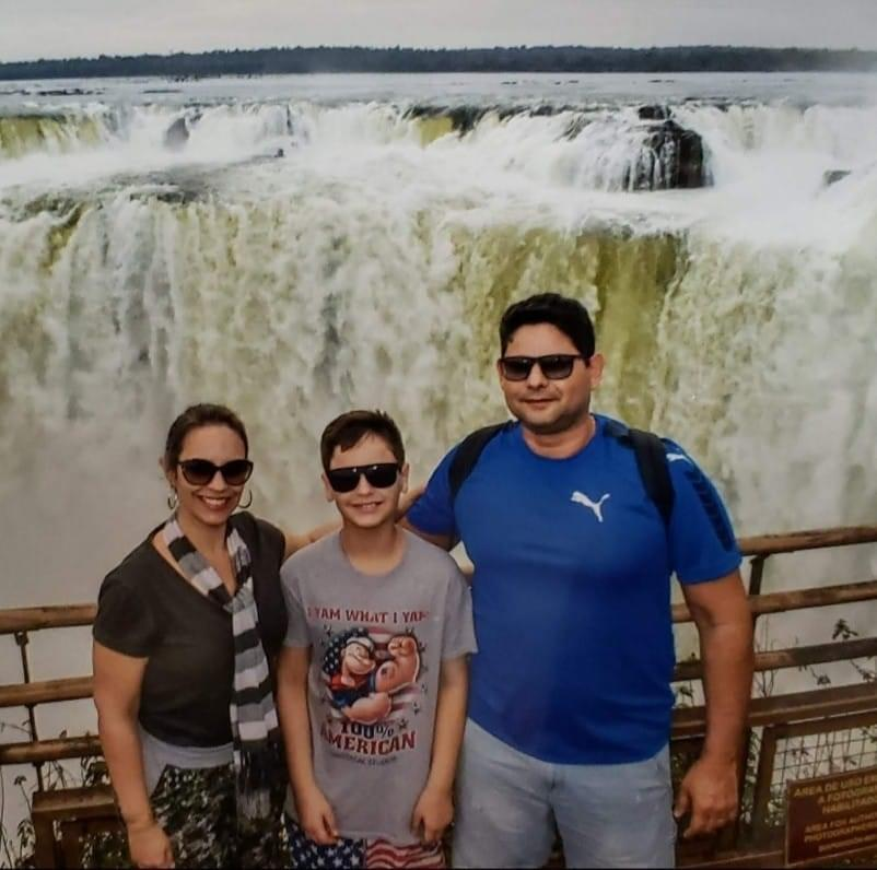 Empresário Júlio Mendes morre vítima da Covid-19 e deixa esposa, Luciana Mendes e filho pré-adolescente
