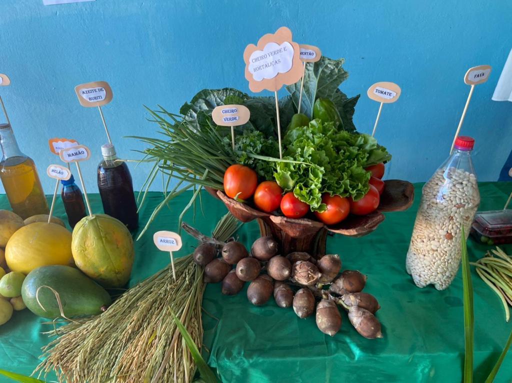 """Exposição da """"Mesa da Agricultura Familiar"""" em Manoel Emídio - Imagem 7"""