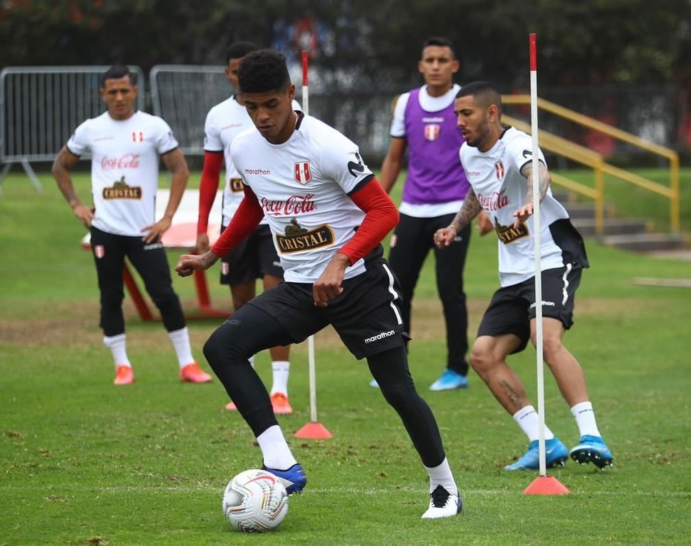 Seleção do Peru treina em Lima antes de viajar para o Brasil - Foto: Reprodução/Twitter