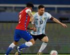 Argentina e Chile ficam no empate em 1 a 1  na estreia pela Copa América