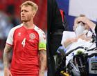 Capitão da Dinamarca foi chamado de herói e fundamental para salvar Eriksen