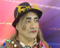 Chupetinha interpreta o cantor Boy George, que completa hoje 60 anos