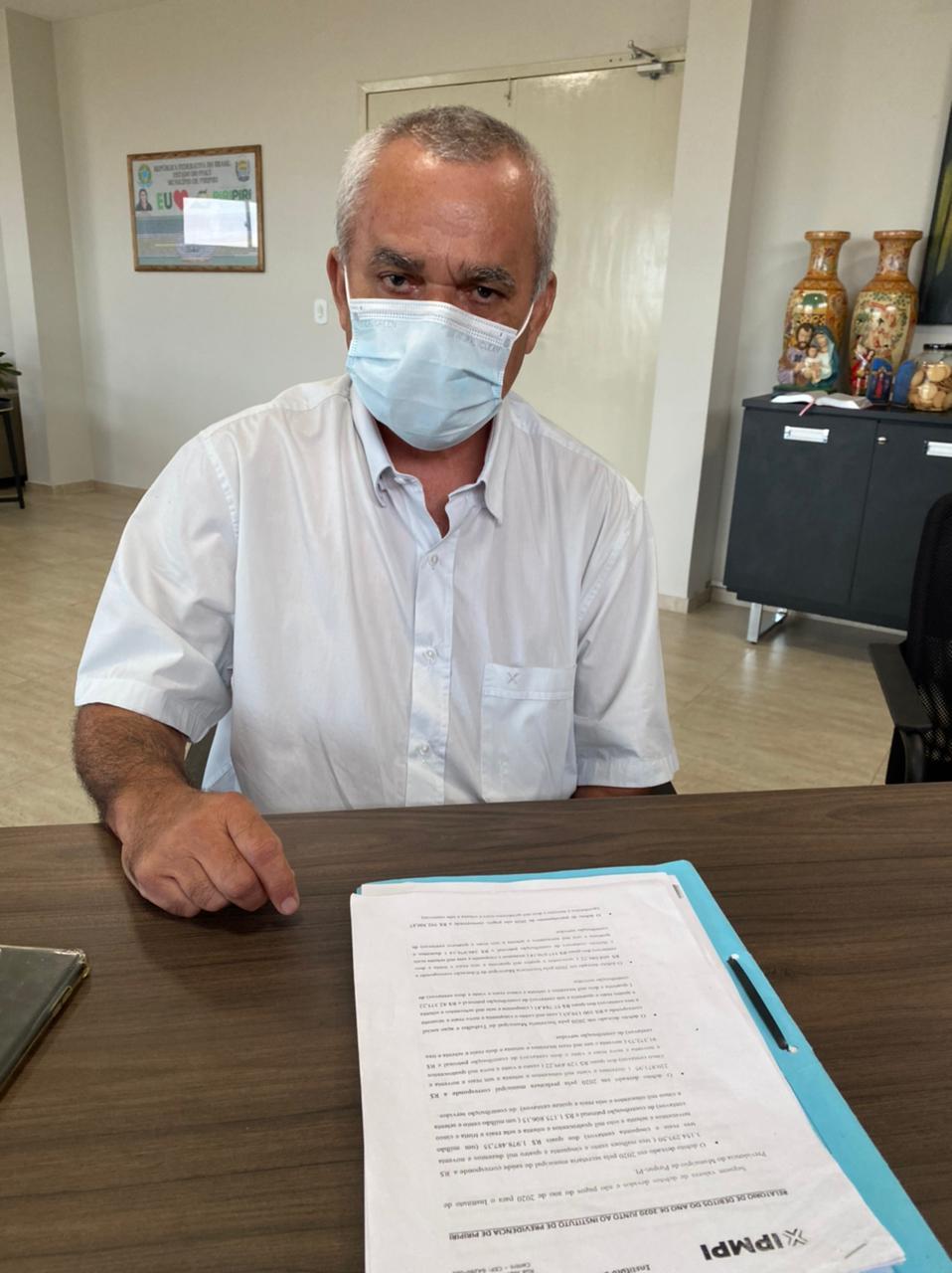 Procurador Geral de Piripiri, José Bezerra Pereira , denuncia rombo milionário