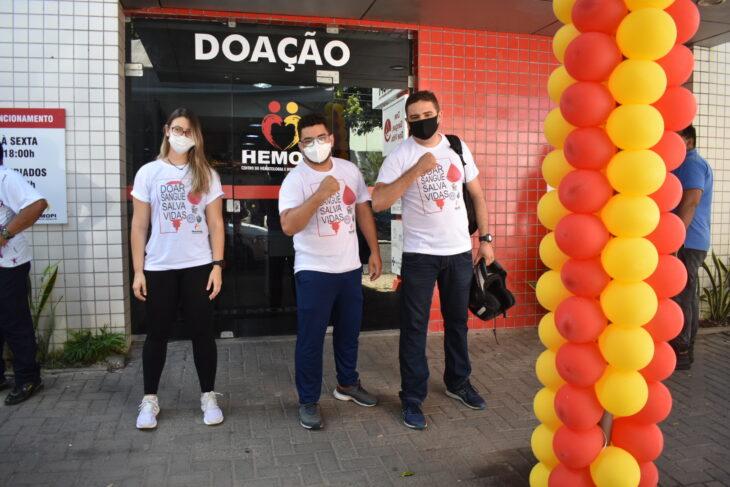 Ao longo do mês, o Hemopi vai receber vários grupos para doarem sangue, tanto na capital quanto do interior - Foto: Ascom