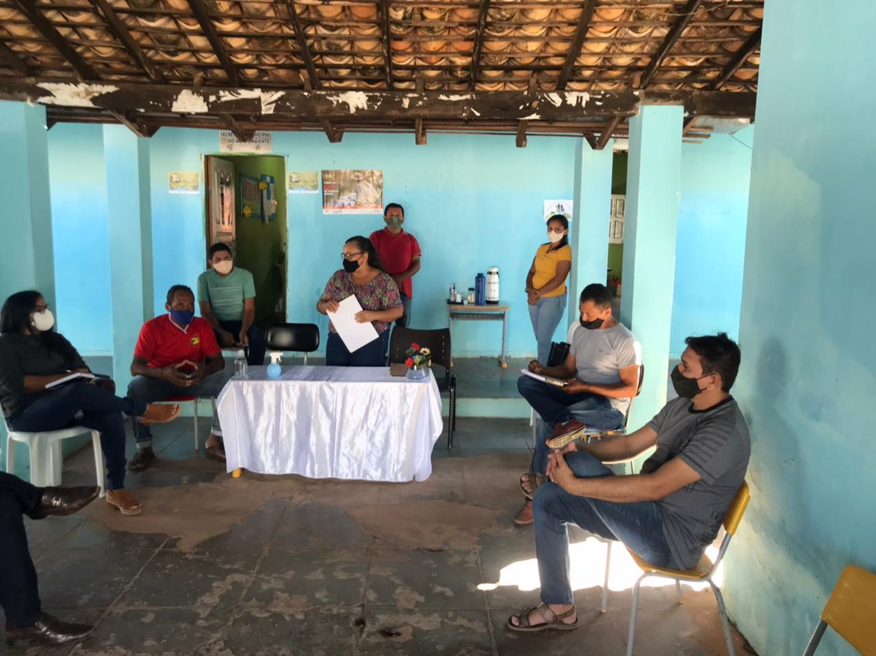 Secretaria realiza reunião para renovar Conselho Municipal em Manoel Emídio - Imagem 3