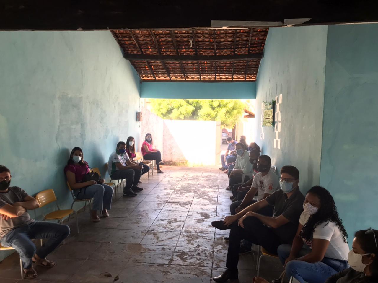 Secretaria realiza reunião para renovar Conselho Municipal em Manoel Emídio - Imagem 6