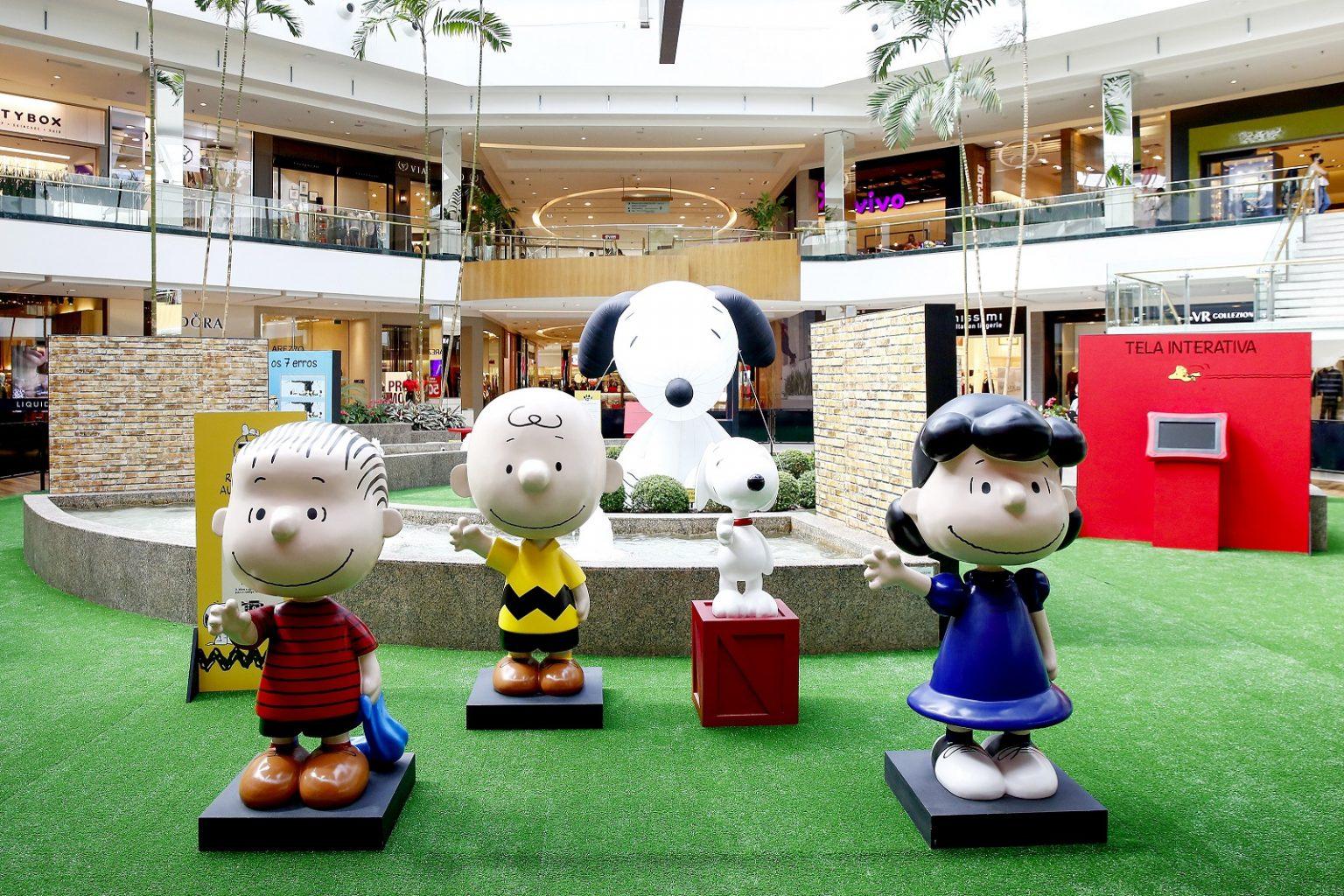 Esposição com a tura do Snoopy chega ao Brasil. (Foto: Augusto Costa Fotografia)