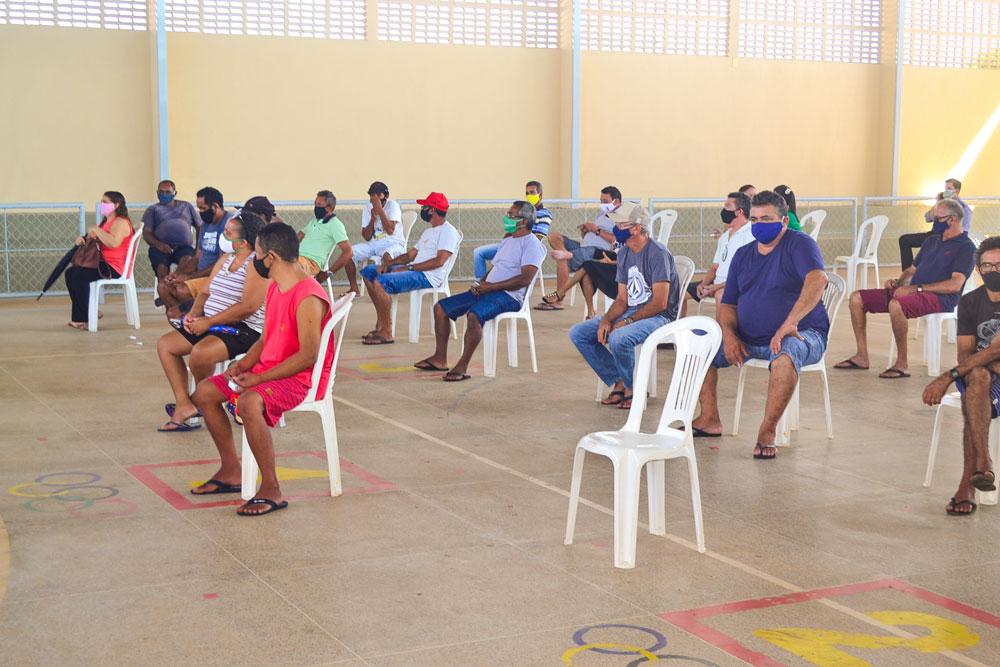 Joaquim Pires inicia imunização do público entre 55 a 59 anos - Imagem 14