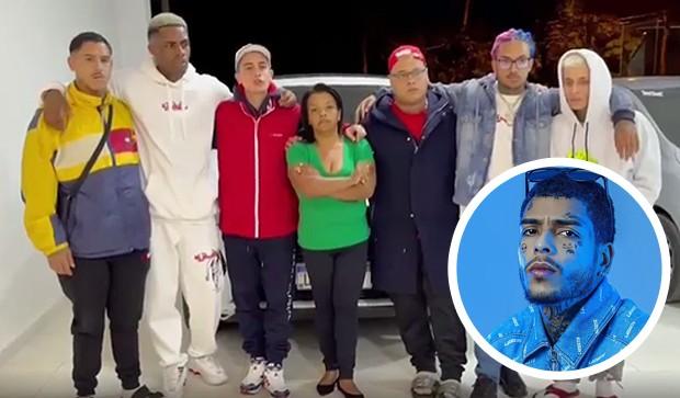 MC Hariel, MC Pedrinho, MC Brinquedo e outros amigos de MC Kevin anunciaram a realização de uma rifa de um carro de luxo