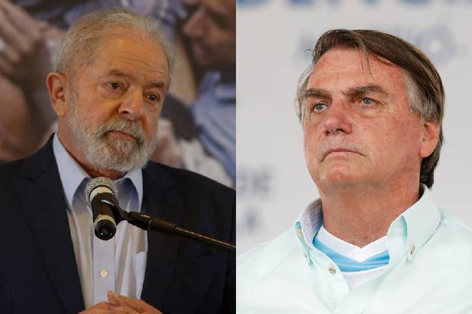 Pesquisa ainda mensurou o potencial de transferência de voto de Lula e Bolsonaro