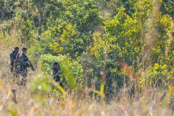 Moradores de Cocalzinho de Goiás relataram ter ouvido mais de 50 disparos - Foto: Hugo Barreto/Metrópoles