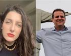 Vacina? Clarice Falcão faz promessa de beijar na boca de prefeito do Rio