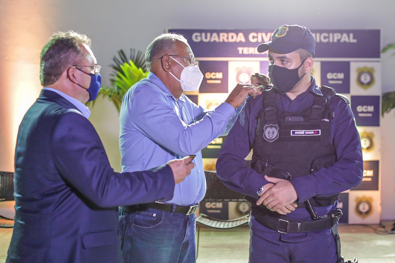 Novo comandante da GCM é empossado em Teresina (Foto: Lucas Didas/ Semcom)