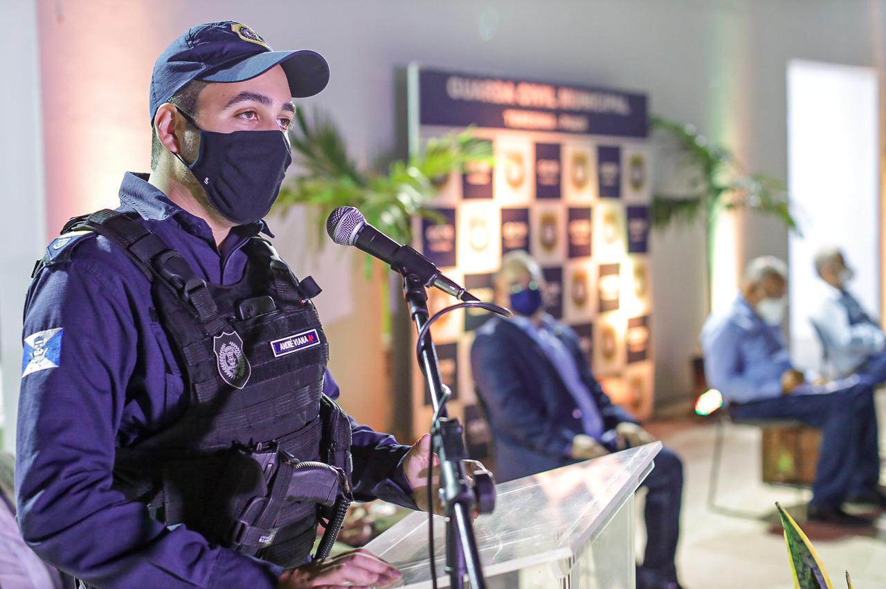 André Viana, novo comandante da GCM em Teresina (Foto: Lucas Dias/ Semcom)