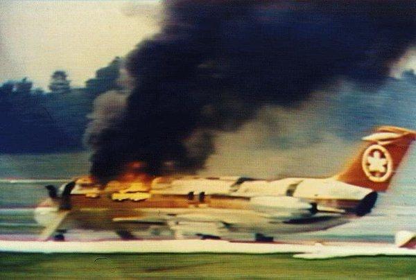 Fumaça tóxica mata 23 pessoas em avião da Air Canadá que pegou fogo - Imagem 2