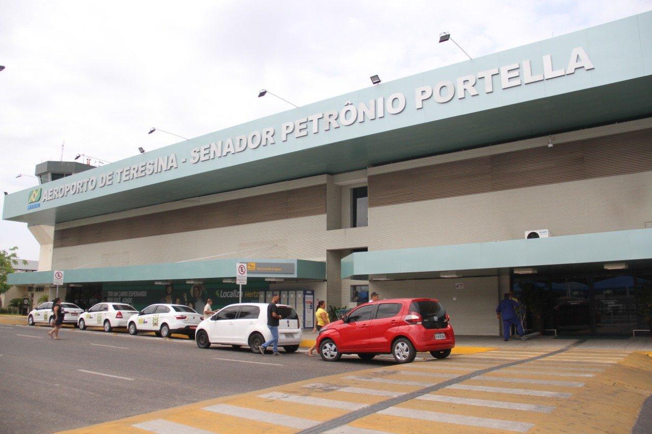 Aeroporto Senador Petrônio Portella. Crédito: Reprodução/Divulgação.