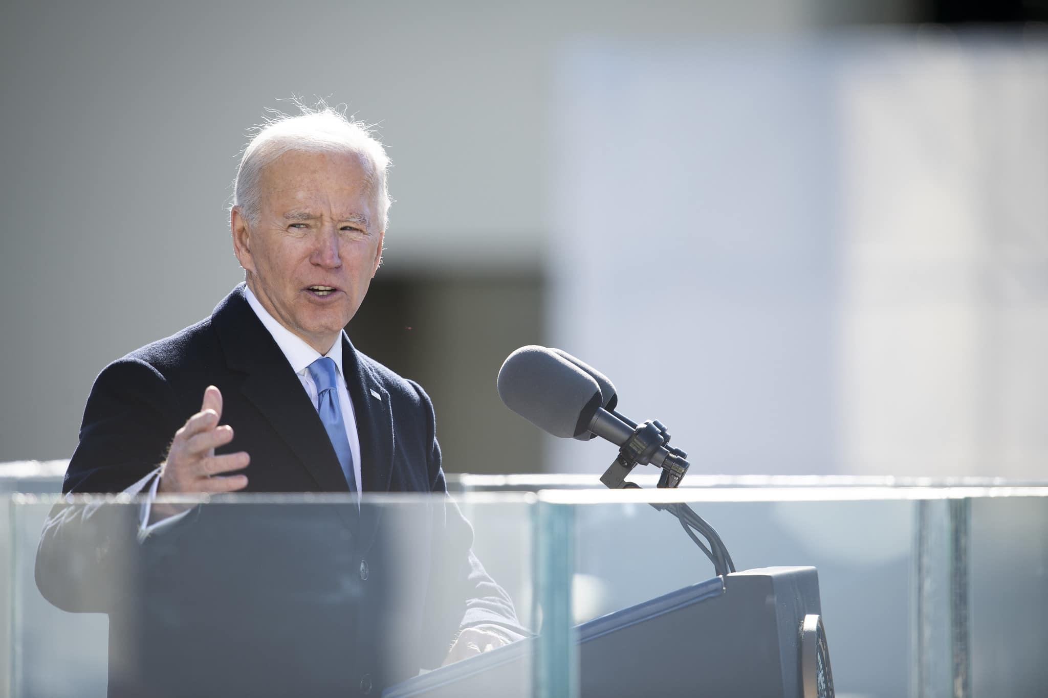 Presidente dos EUA, Joe Biden, vem fortalecendo a agenda climática (Foto: DOD Foto por suboficial da Marinha de 1ª classe Carlos M. Vazquez II )