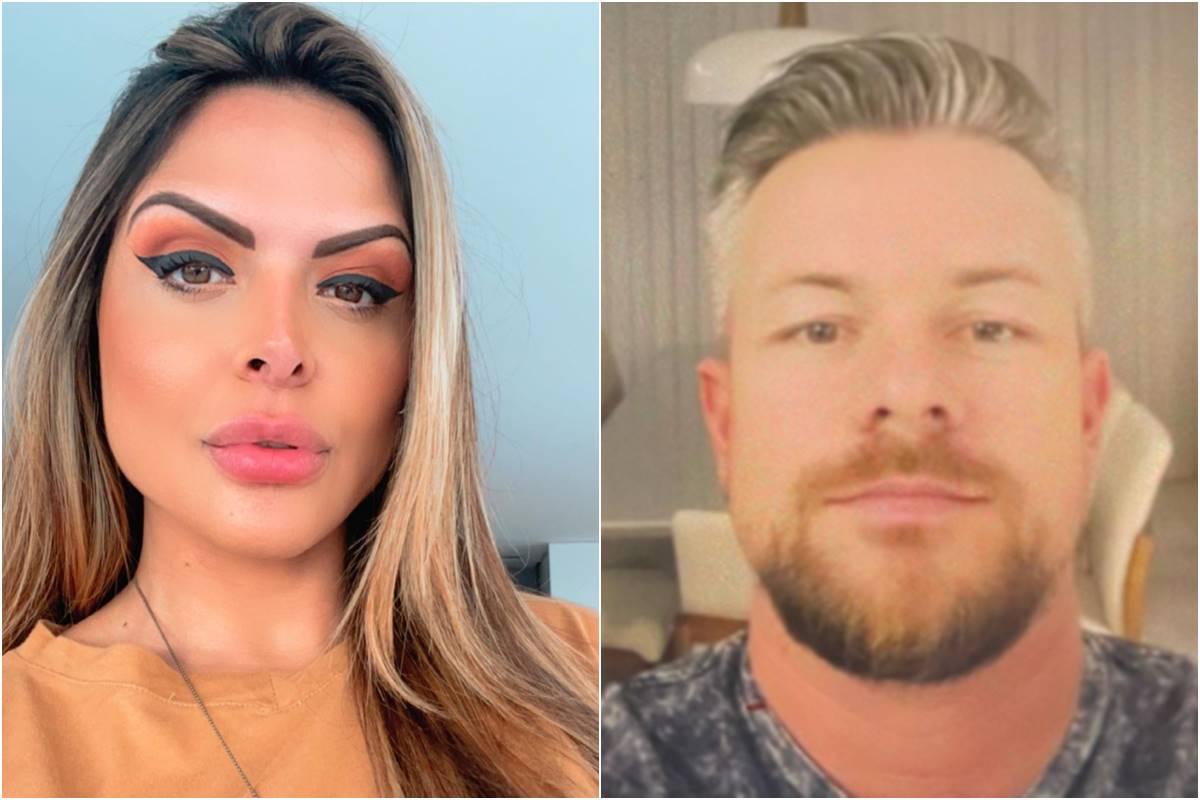Ricardo Hilgenstieler, ex-namorado da apresentadora do Cidade Alerta, Silvye Alves