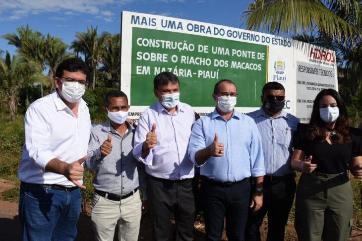 A entrega da ponte foi realizada dentro do prazo estabelecido em contrato - Foto: Ccom