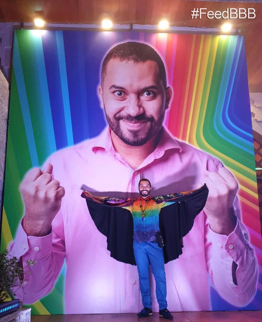 Gil do Vigor em uma das festas do BBB 21