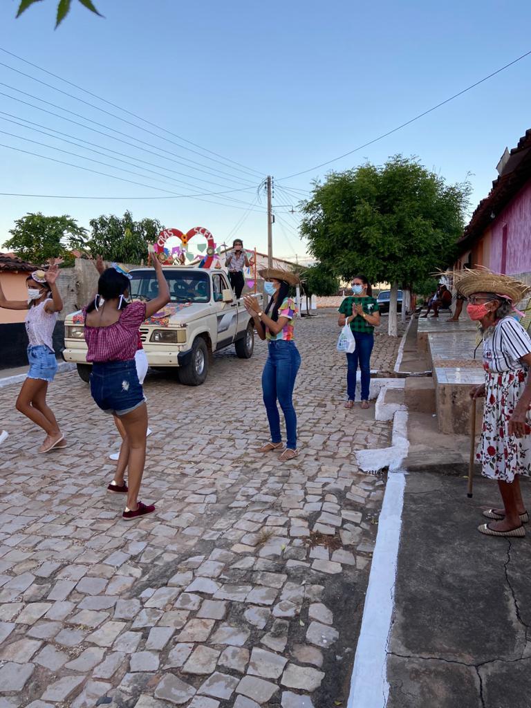 """Assistência Social de Campinas do Piauí realiza """"Arraiá Social dos Idosos"""" - Imagem 5"""