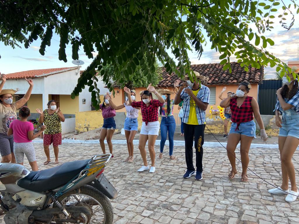 """Assistência Social de Campinas do Piauí realiza """"Arraiá Social dos Idosos"""" - Imagem 1"""