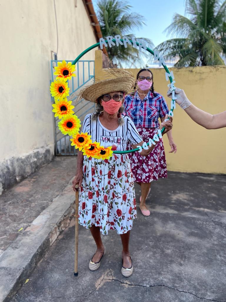 """Assistência Social de Campinas do Piauí realiza """"Arraiá Social dos Idosos"""" - Imagem 6"""