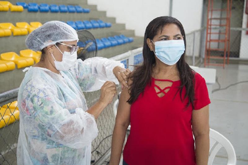 Vacinação contra Covid-19 acontece nesta quarta-feira (23) em cinco pontos fixos de Timon | FOTO: Divulgação
