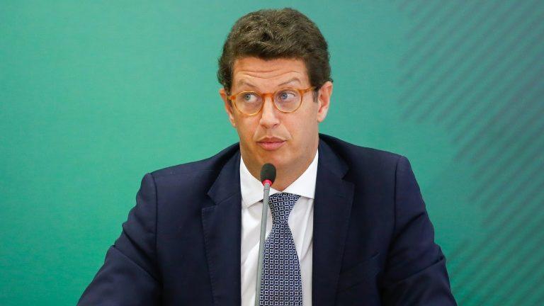 ex-ministro do Meio Ambiente Ricardo Salles