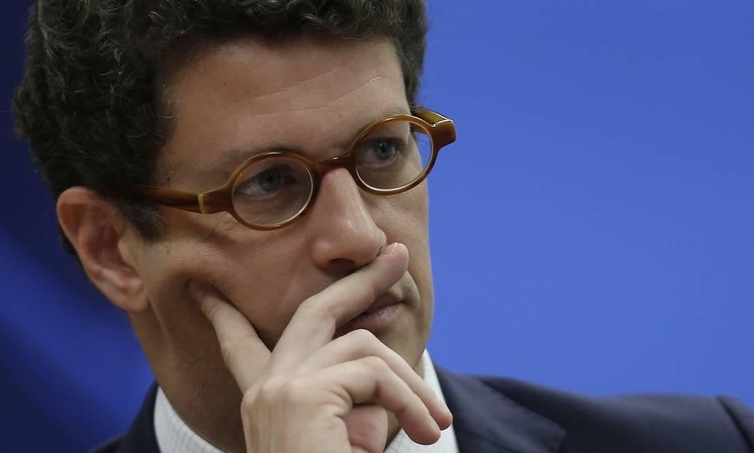 Ricardo Salles estava sendo alvo de duas investigações pelo STF - Foto: Jorge William/Agência O Globo