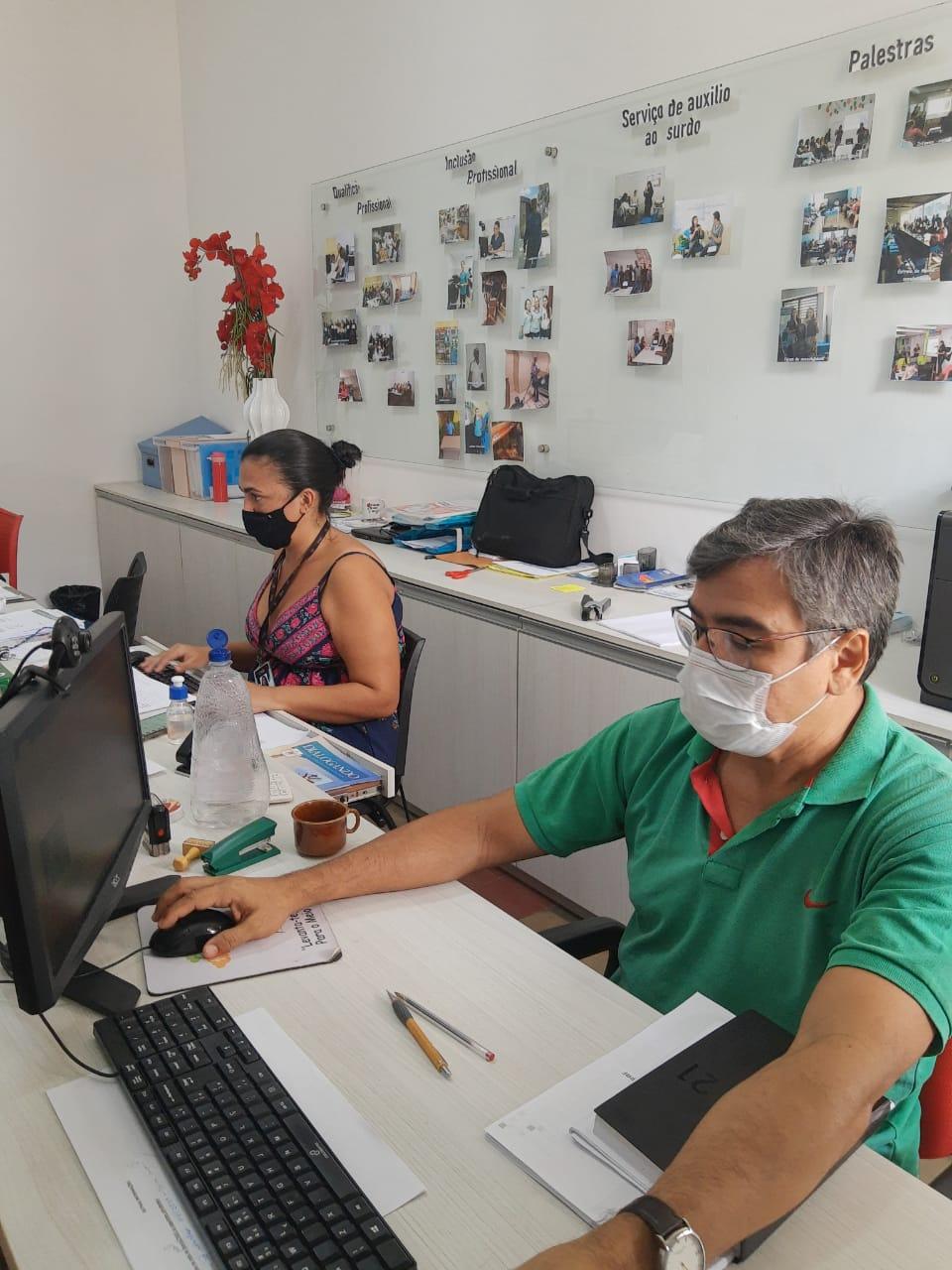 Projeto Trabalho Acessívelbusca fortalecer o banco de talentos do serviço Levanta-te. (Foto: Divulgação)
