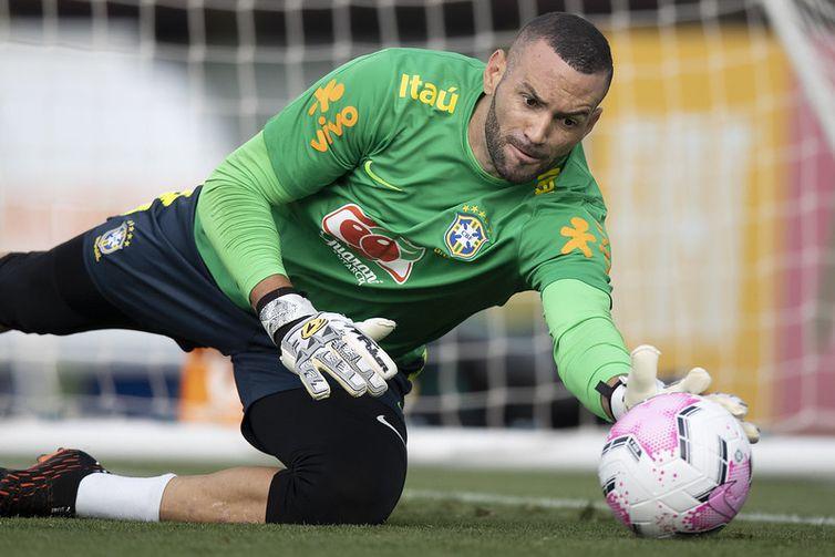 O goleiro Weverton fará sua estreia na Copa América- Foto: CBF