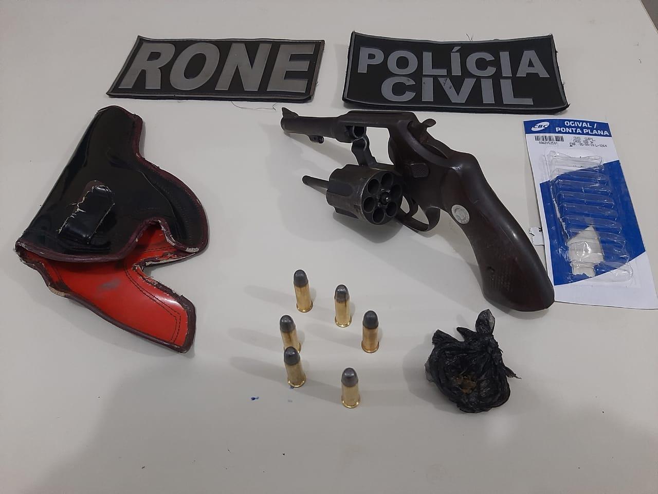 Homem foi preso em Picos com arma de fogo