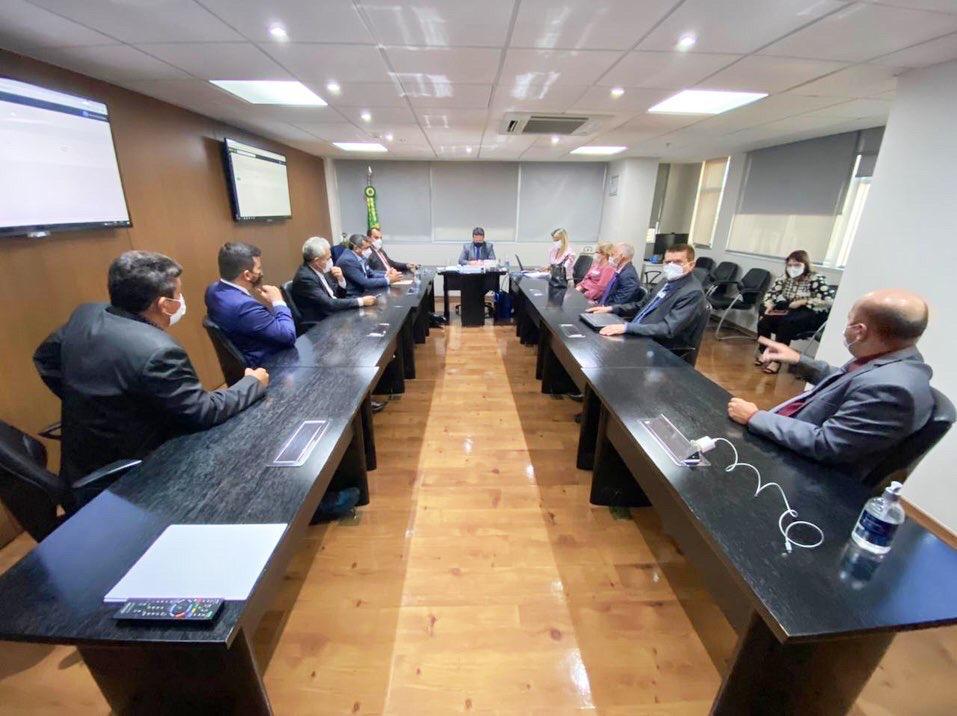 Prefeitos participam de audiências na Funasa, em Brasília (Divulgação)