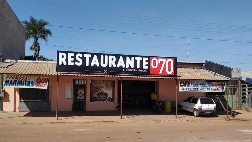 Restaurante e Conveniência 070, às margens da BR 070, em Girassol, Goiás - Foto: Reprodução/Revistamenu