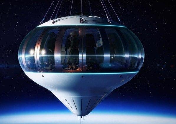 "Space Perspective usará ""balões espaciais"" gigantes. (Foto: Space Perspective)"