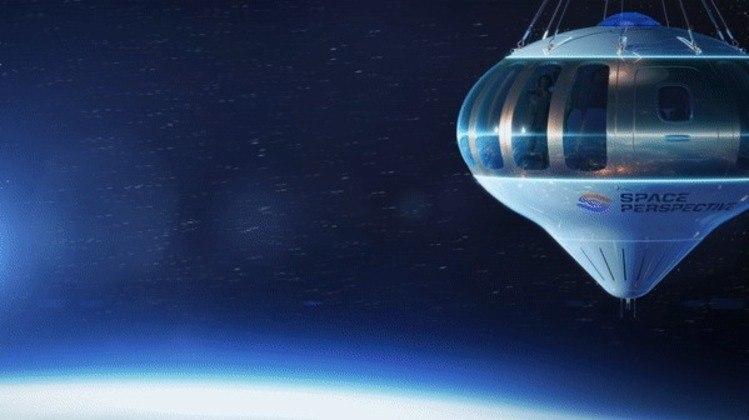 Passageiros vão ter oportunidade de ver a Terra de uma outra forma. (Foto: Space Perspective)